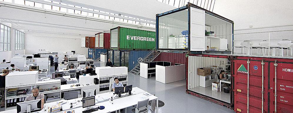 burogestaltung beispiele, büro best practice   new world of work, Design ideen